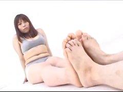 Tall Japanese Feet Battle