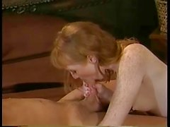 Classic Freckled Redhead Flame Gets Assfucked