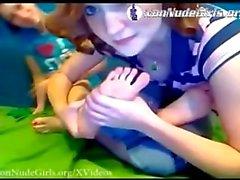 Lesbian Feet