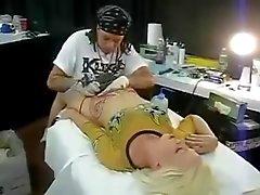 Оргазм путем Татуировка
