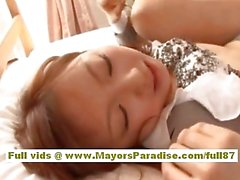 Anna Mitsui Hot Asian secretary gets a hard fucking