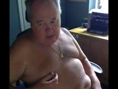 juego abuelo en la webcam