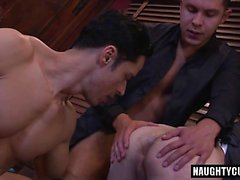 Big dick gay sexo oral y corrida