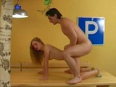 Olia Young Russian Teen - Creampie