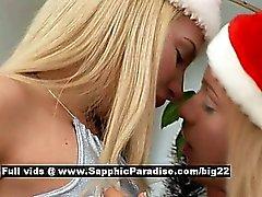 Ingrid und Larissa aus Sapphic Erotica Lesben Mädchen lecken