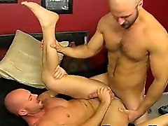Mature stud Mitch Vaughn getting fucked anally