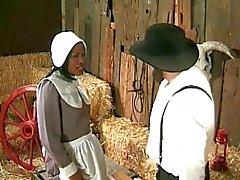 Amish Bauern annalizes einem schwarzen Dienstmädchen