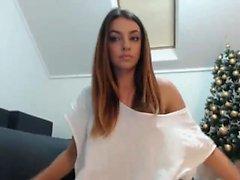 Amatööri Romanian Babe webbikameralla