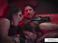 Jessica Jaymes - Trio di Perfec con Jessica Chloe e Tommy Gun