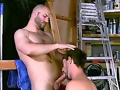 Small boy bust fuck gay first time David Likes His Men Manly