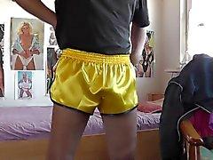 сексуальных шорты унд сатин stringtanga