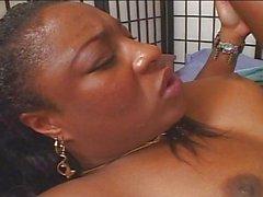 Hard fucking with Ebony pussy