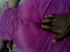 groping satin maami maid