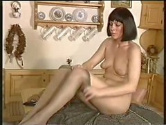 Mature women pantyhose