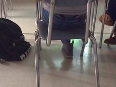 Not teen in class thong slip last part