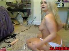 Busty Kristin_Kavallari squirts with sex machine ALIVEGIRL