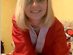 19yo blondi college teini masturboi on webbikamera