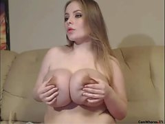 Busty secretary big boobs oral sex office