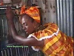 Afrikaanse Teen nemen zijn pik