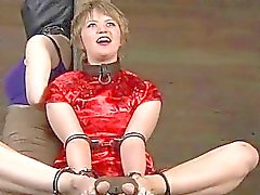 Angel next door waits for her hardcore s&m torture