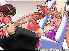 Immagini 3D Hentai Futanari Ragazzi a Cumming !