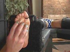 wonder woman tickling