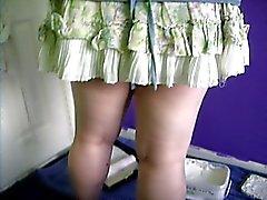 Nice little pantie peeks