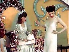 Tappning Bridal Underkläder för modeshow