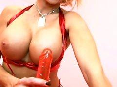 German Big Tit MILF in perfect Dirty-Talk Help you Cum