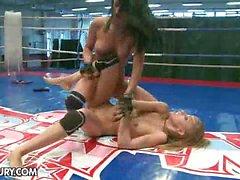 Nude Fight Club presents Candy Love vs. Destiny