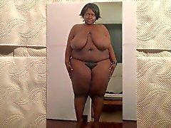Meine Lieblings- schwarze Mollige Frauen Sperma Hommage