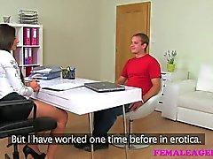 FemaleAgent - Stud fucks and fails at casting