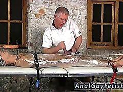Cartoon Männer in Gummi Bondage Homosexuell Sebastian hatte die Jungs c