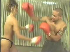 lisa-marie vs fletch mélangé boxe