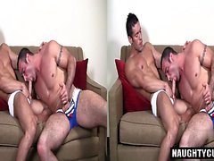 Big dick gay analsex med cumshot
