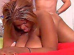 Schön große Brüste schwarzes Dicke Frauen Minxx liebt ficken
