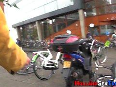 Dutch prostitute fucks