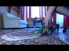 Laura&Rolf kinky nylon feet movie