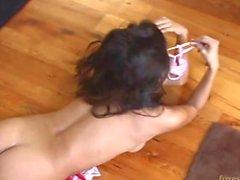 Candice Cardinele - Подозрительный Butt Кухонные