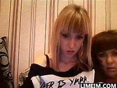 Russian Cam Slut Teasing