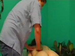 Massaging The Pink Hole!