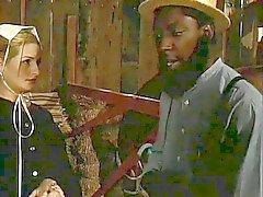 Amish musta kukko lutka