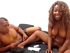 Cute big boobs ebony camgirl