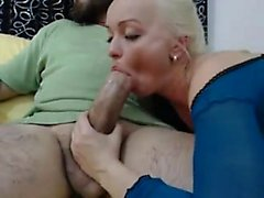 Hot Blonde Wife Loves Large Arab Penis