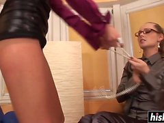 Zuzana fucked her friend Laura Crystal