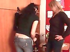 amazing Lesbians play with dildos and sucks