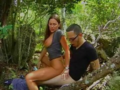 Horny Milf Banged in Park!!