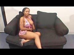 Hot Black Girl Sucking Small Black Cock