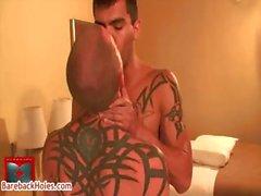Weise Daniels und Shane Stein in Homosexuell