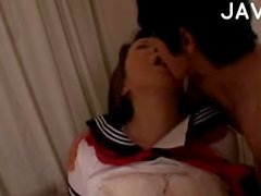 Asian Chick Gets Kissed & Fingered